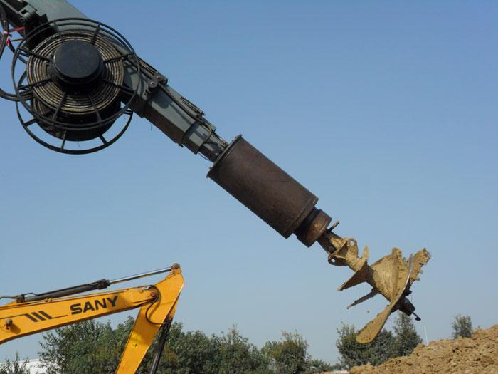 旋挖钻机维修改装